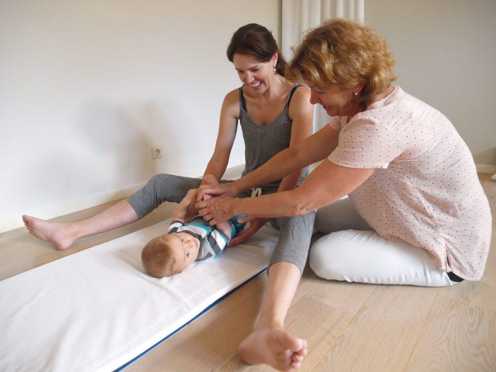 Docent Babymassage foto